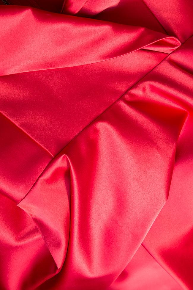 Silk-blend taffeta gown Cloche image 4