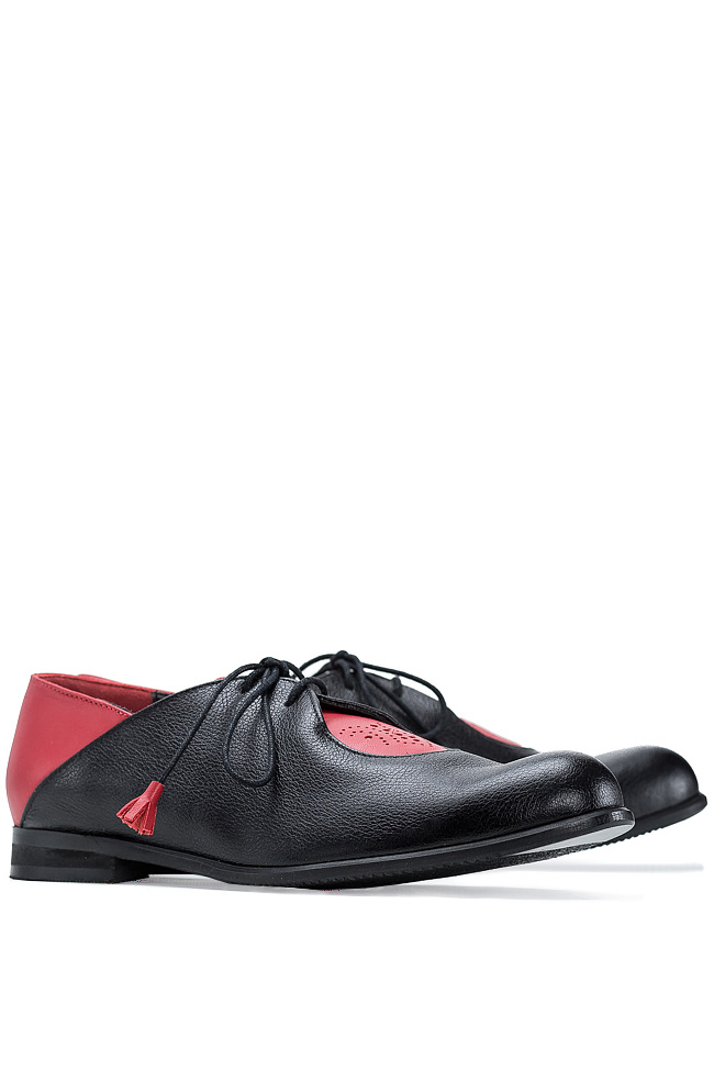 Pantofi stil Oxford Mono Shoes by Dumitru Mihaica imagine 1