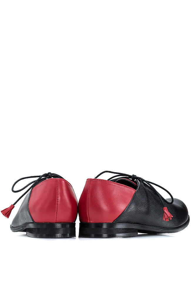Pantofi stil Oxford Mono Shoes by Dumitru Mihaica imagine 2