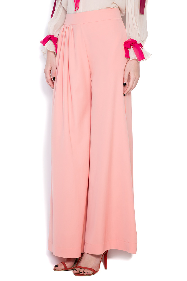 Comma wool wide-leg pants LRM image 1