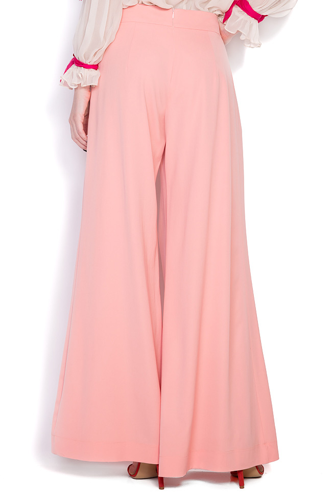 Comma wool wide-leg pants LRM image 2