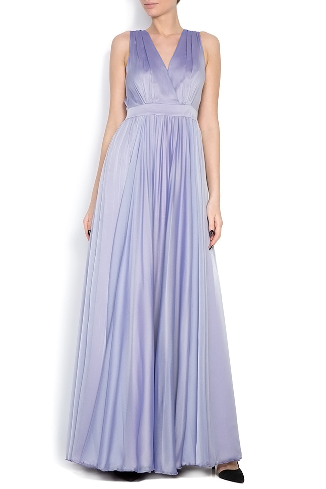 Silk maxi dress Cloche image 0