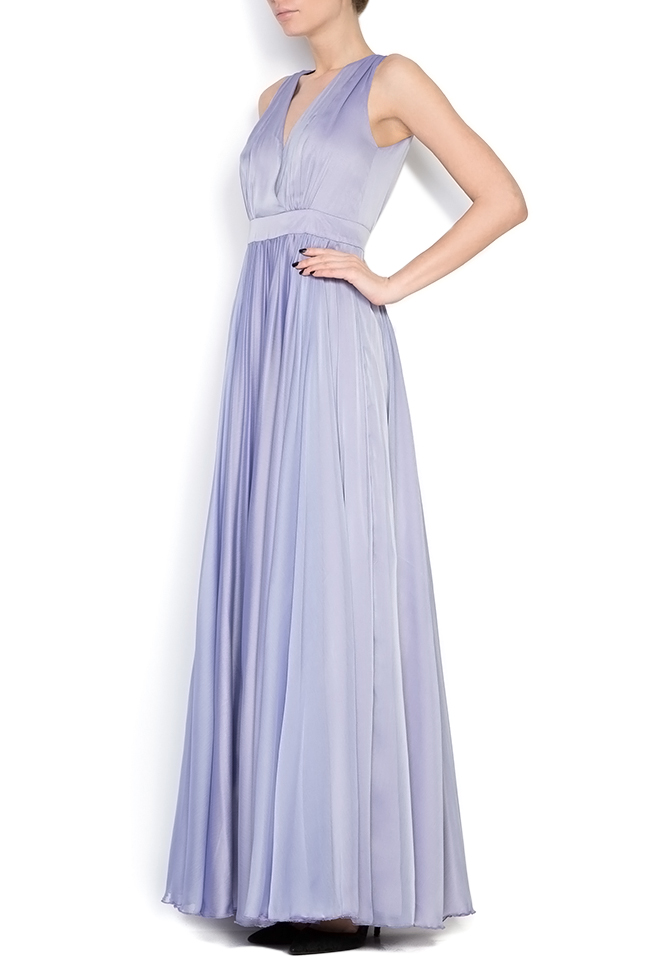 Silk maxi dress Cloche image 1