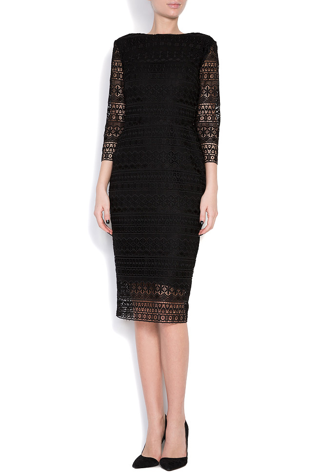 Open-back guipure lace midi dress Love Love  image 0