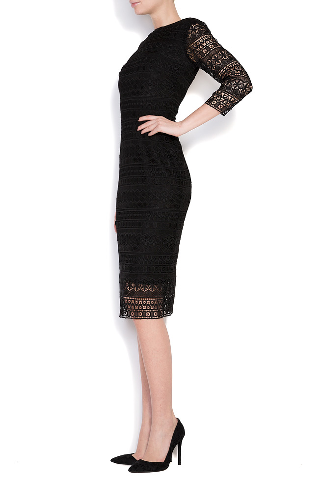 Open-back guipure lace midi dress Love Love  image 1