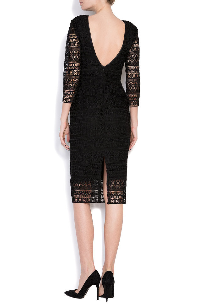 Open-back guipure lace midi dress Love Love  image 2