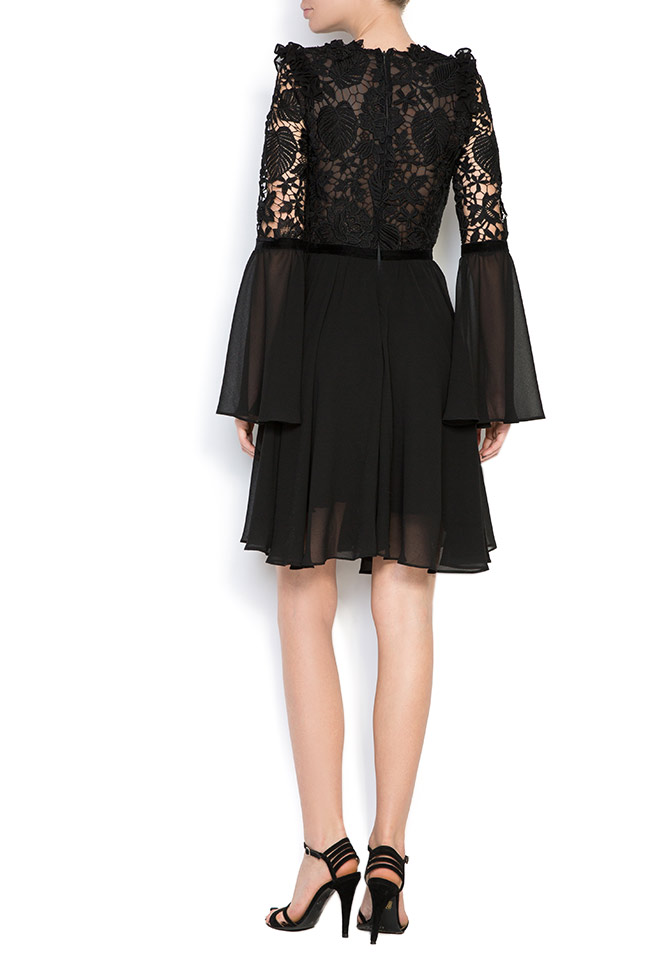 Lace-trimmed veil mini dress Love Love  image 2