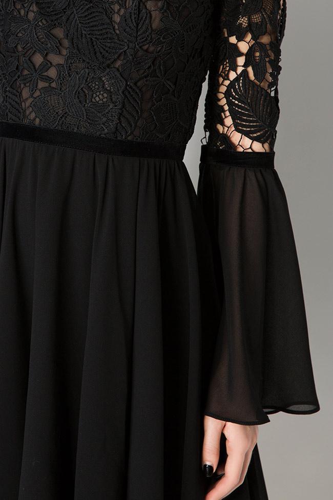 Lace-trimmed veil mini dress Love Love  image 3