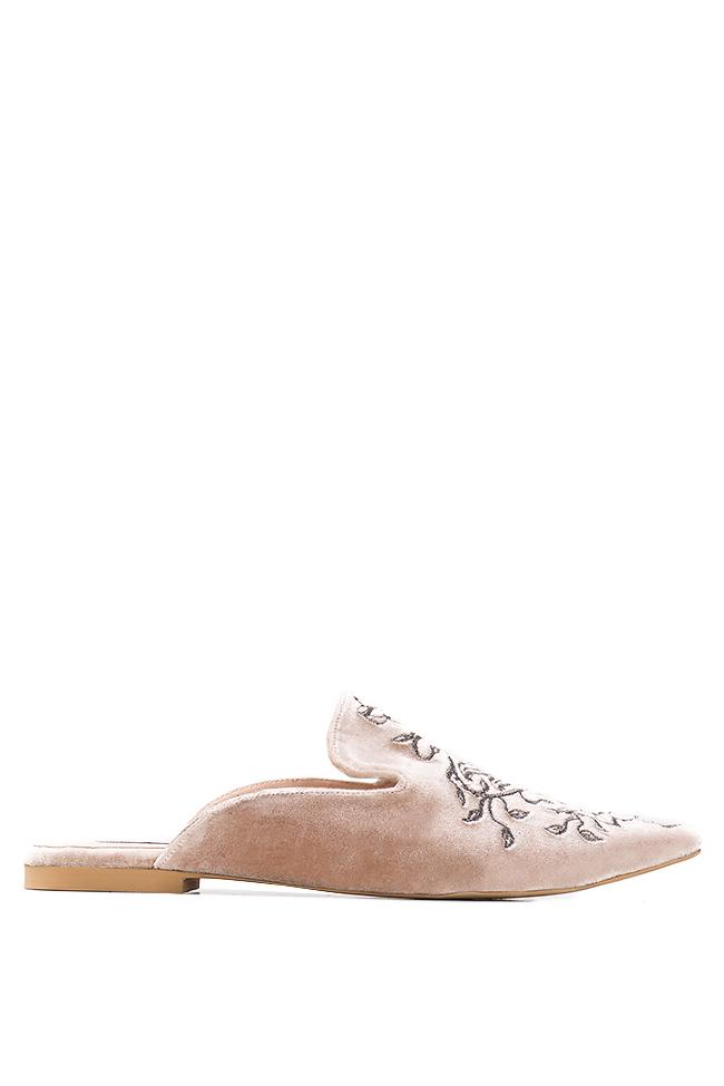 Velvet slippers Ana Kaloni image 0
