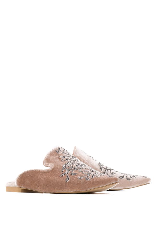 Velvet slippers Ana Kaloni image 1