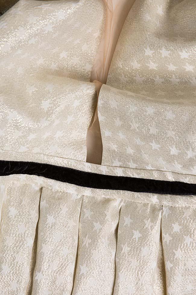 Robe en tissu Jacquard et tulle, Lucky Florentina Giol image 4