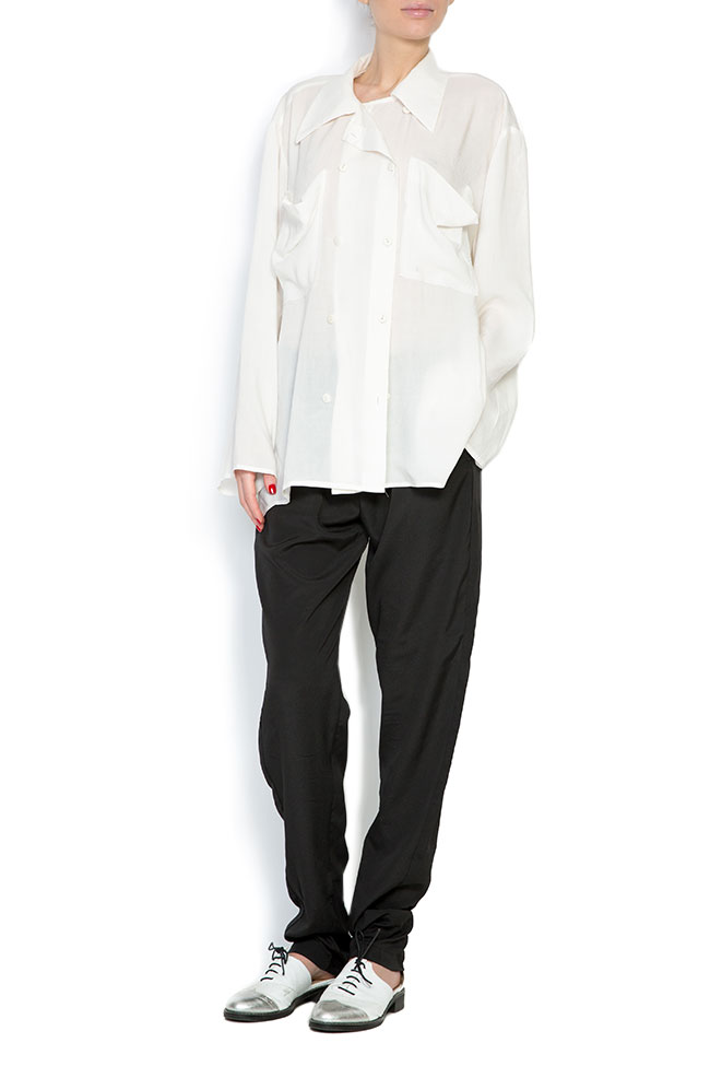 Weekend oversized cotton shirt Studio Cabal image 0