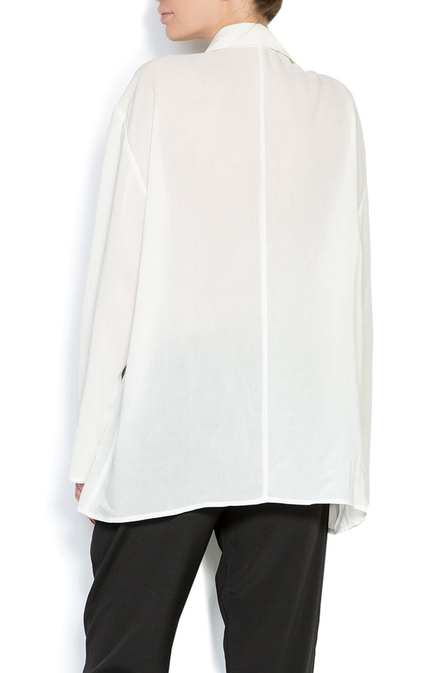 Weekend oversized cotton shirt Studio Cabal image 2