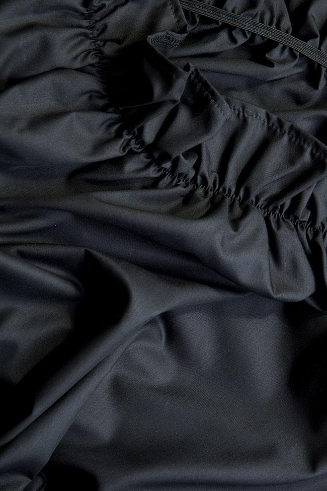 Blouse en popeline de coton les épaules dénudées Cloche image 4