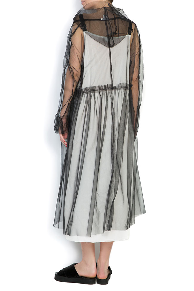 Urban hooded tulle midi dress Studio Cabal image 2