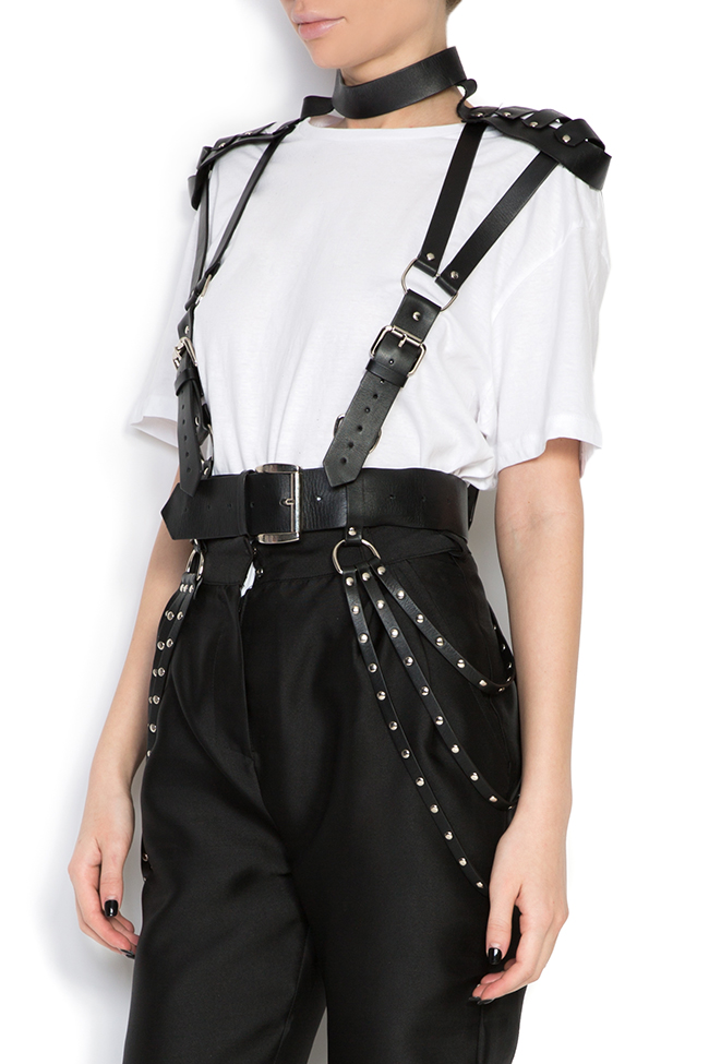 Leather harness Dorin Negrau image 1