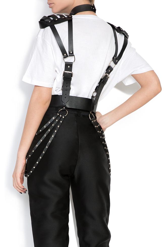 Leather harness Dorin Negrau image 2