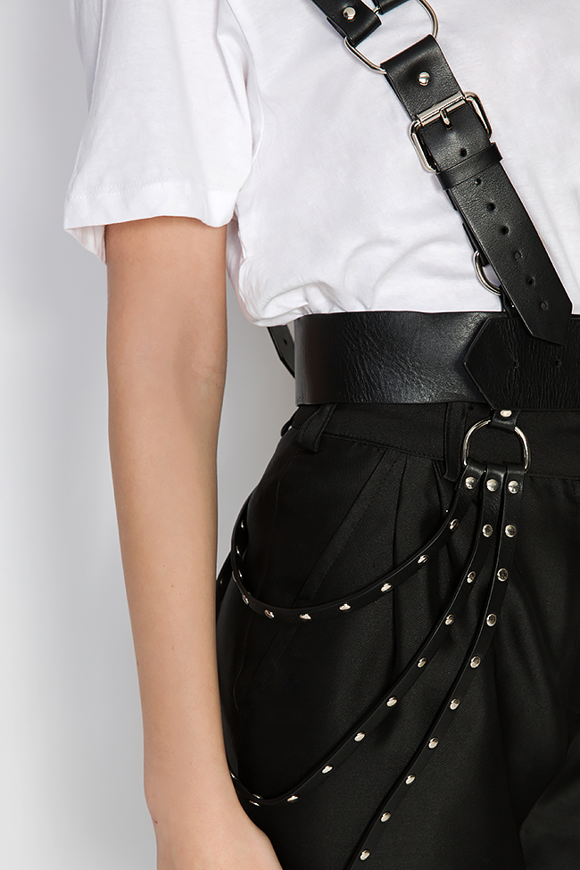 Leather harness Dorin Negrau image 3