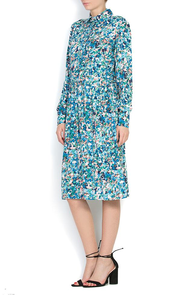 Robe en jersey, à imprimé floral BLUZAT image 1