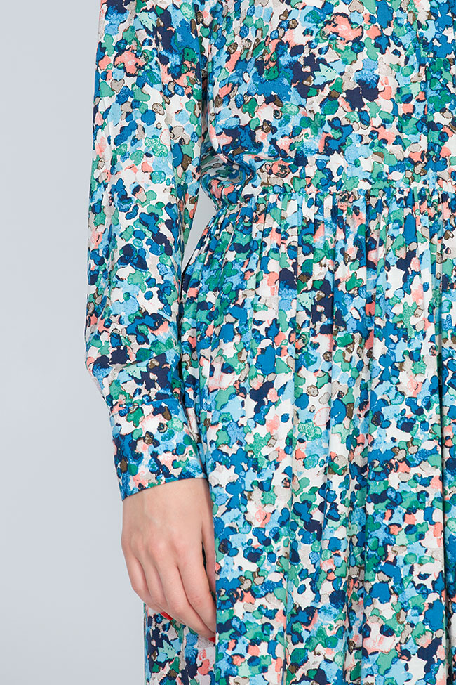 Robe en jersey, à imprimé floral BLUZAT image 3