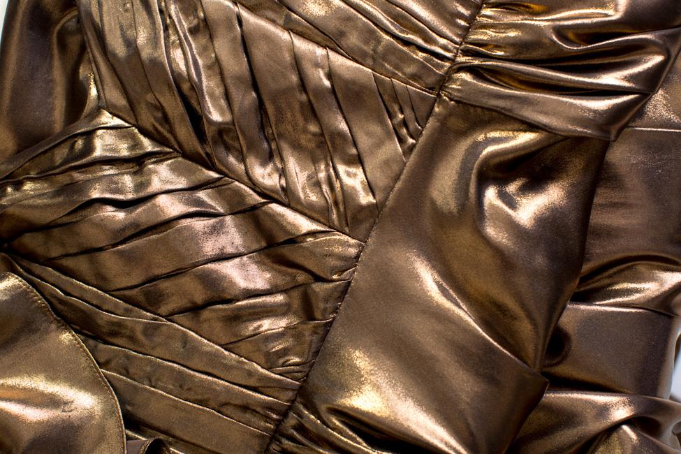 Robe longue en lamé, Louisa Simona Semen image 4