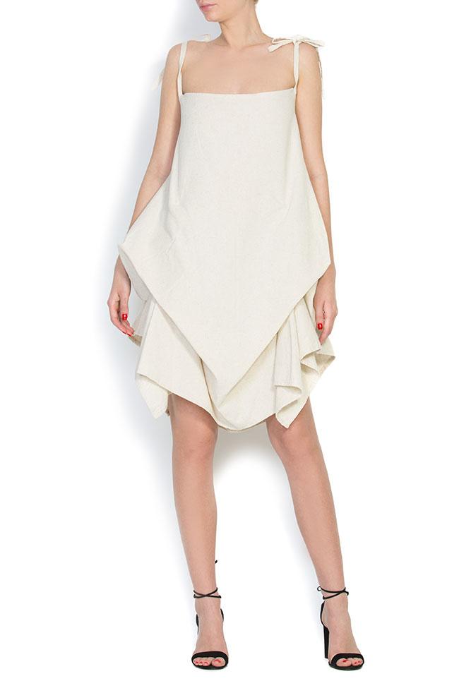 Robe asymétrique en coton, 2 en 1 Nicoleta Obis image 0