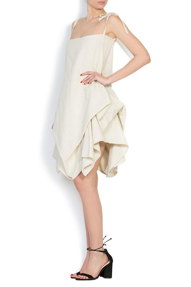 Robe asymétrique en coton, 2 en 1 Nicoleta Obis image 1
