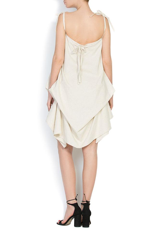 Robe asymétrique en coton, 2 en 1 Nicoleta Obis image 2