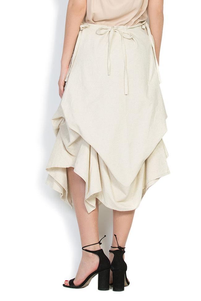 Robe asymétrique en coton, 2 en 1 Nicoleta Obis image 5