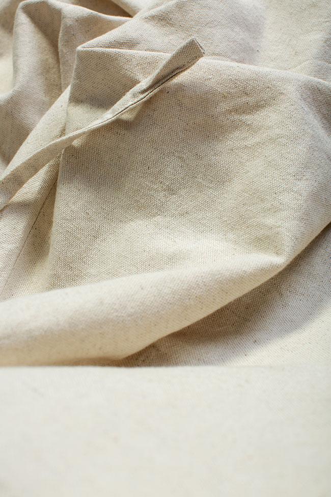 Robe asymétrique en coton, 2 en 1 Nicoleta Obis image 7