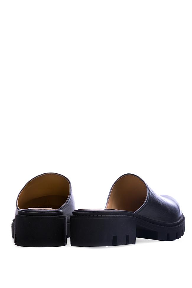 Leather mules Giuka by Nicolaescu Georgiana  image 2