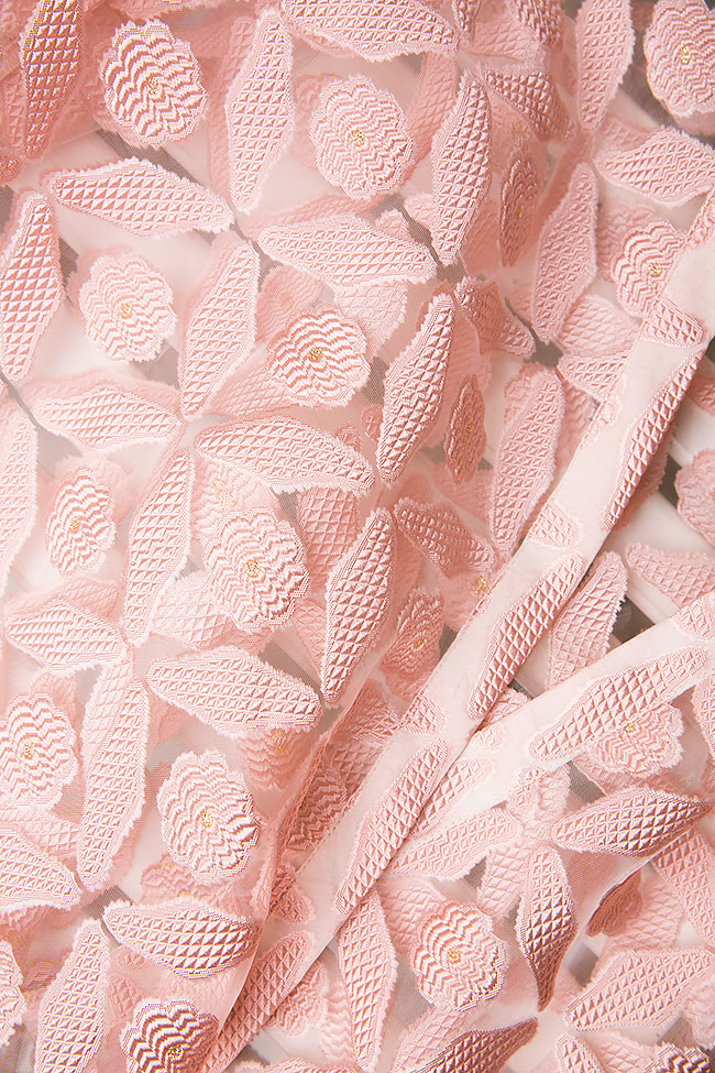 Silk-tulle wrap top Dorin Negrau image 4