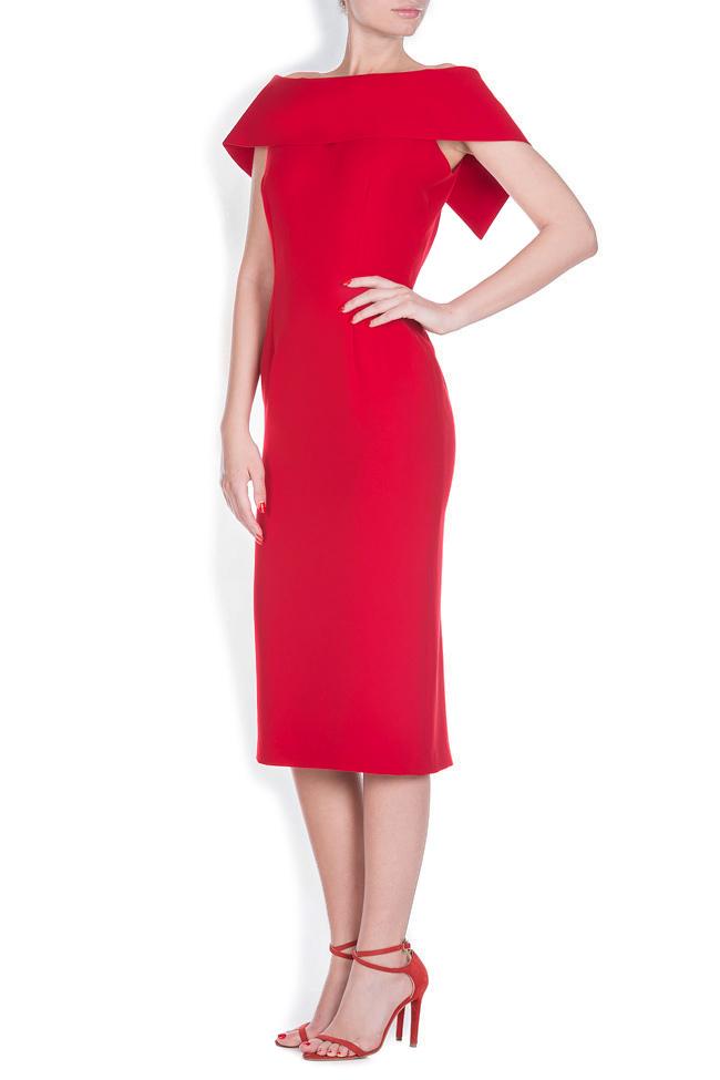 Rianna crepe midi dress Ava Frid image 1