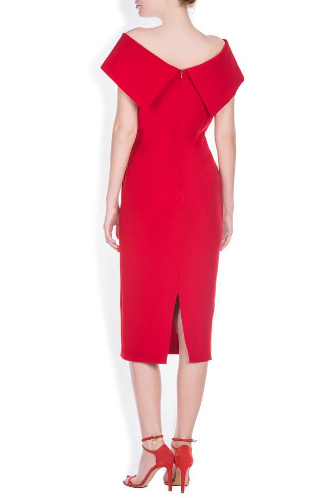Rianna crepe midi dress Ava Frid image 2