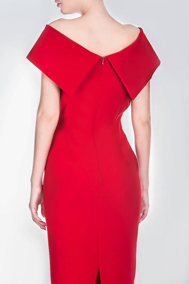 Rianna crepe midi dress Ava Frid image 3