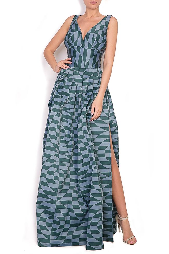 Sofia Verdis silk taffeta maxi dress Alexandra Ghiorghie image 0