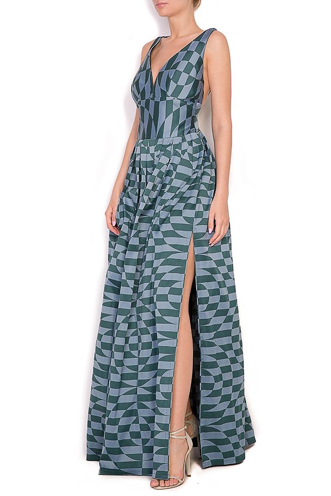 Sofia Verdis silk taffeta maxi dress Alexandra Ghiorghie image 1