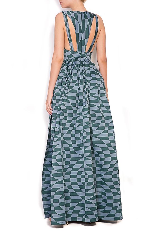 Sofia Verdis silk taffeta maxi dress Alexandra Ghiorghie image 2