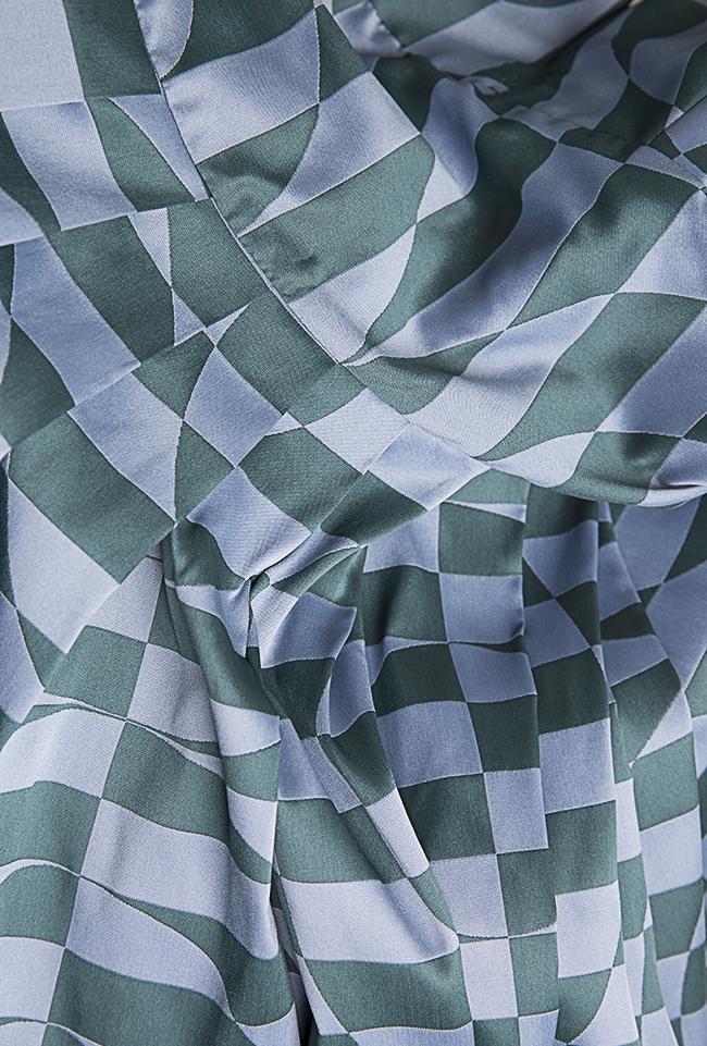 Sofia Verdis silk taffeta maxi dress Alexandra Ghiorghie image 4