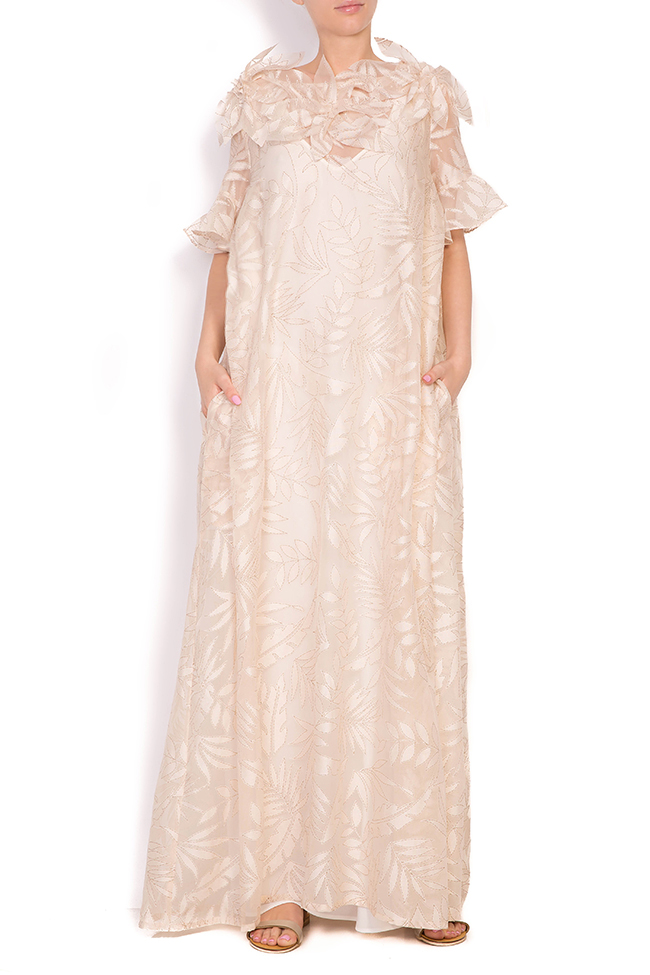 Vermon embroidered tulle maxi dress Alexandra Ghiorghie image 0