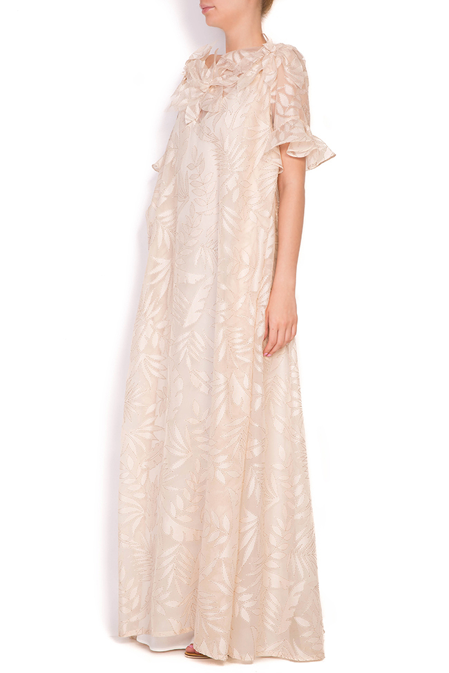 Vermon embroidered tulle maxi dress Alexandra Ghiorghie image 1