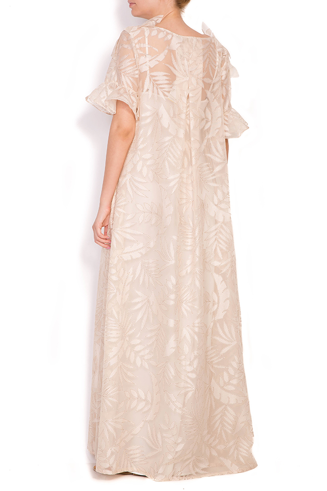 Vermon embroidered tulle maxi dress Alexandra Ghiorghie image 2