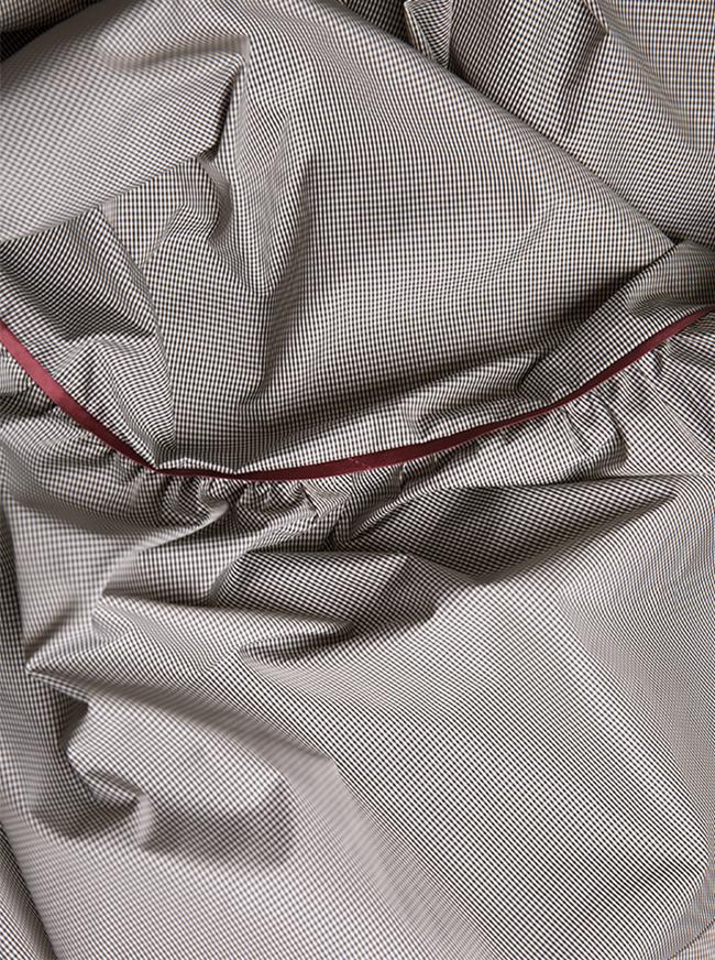 Rosin asymmetric ruffled checked mini dress Alexandra Ghiorghie image 4