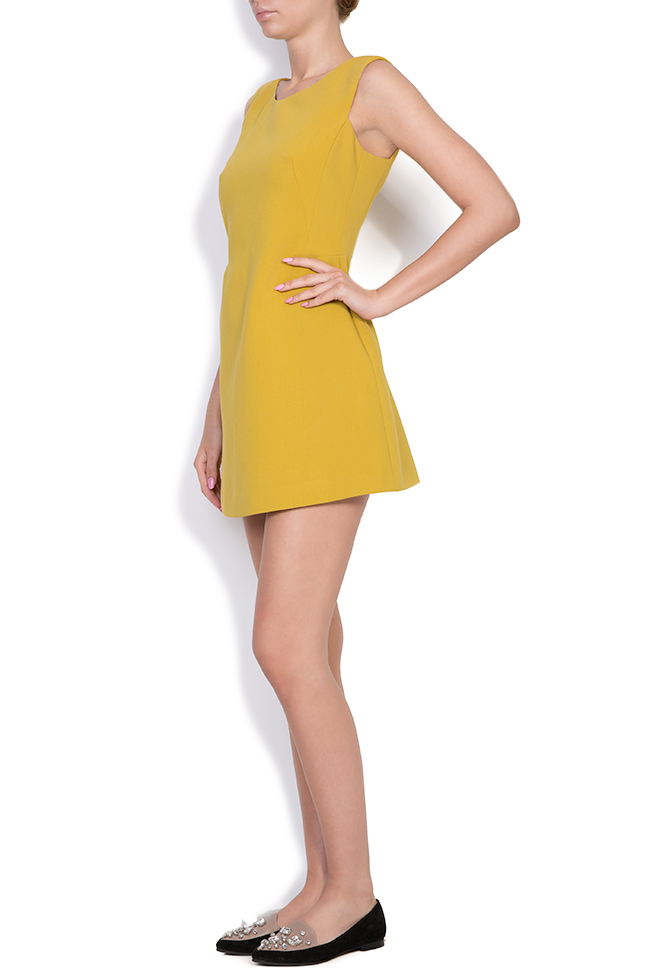 Daisy crepe mini dress Alina Cernatescu image 1