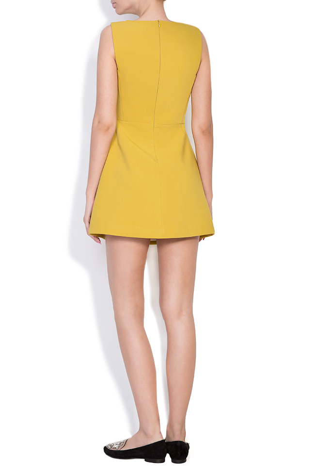 Daisy crepe mini dress Alina Cernatescu image 2