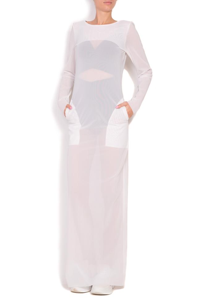 Sera crepe maxi dress Alexandra Ghiorghie image 1