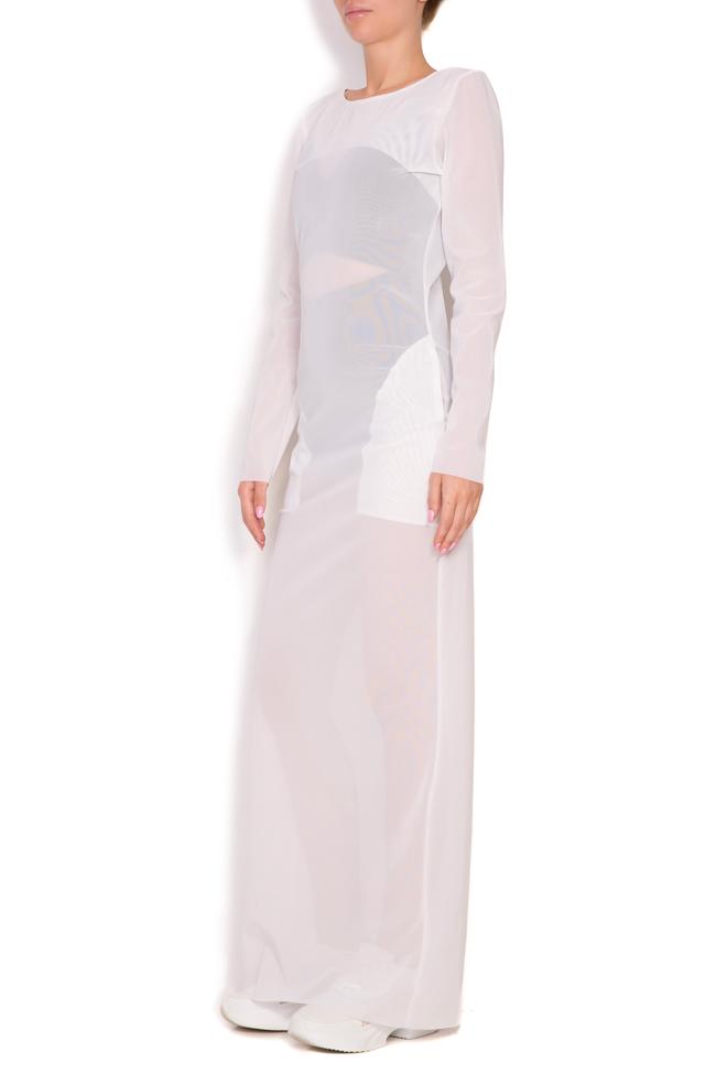 Sera crepe maxi dress Alexandra Ghiorghie image 2