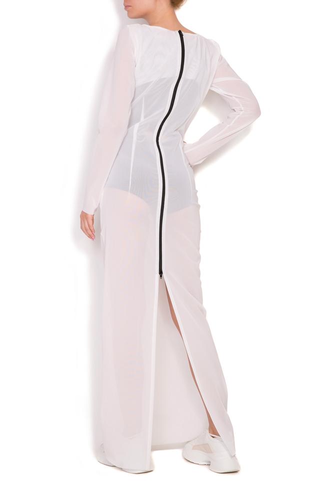 Sera crepe maxi dress Alexandra Ghiorghie image 3