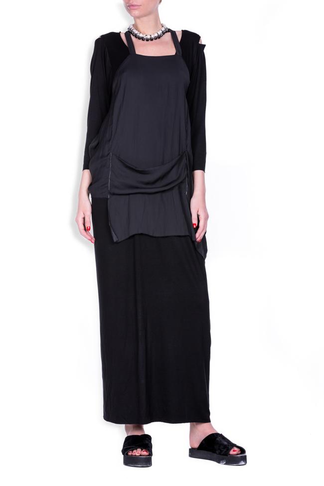 Apron18 cotton-blend maxi dress Studio Cabal image 0