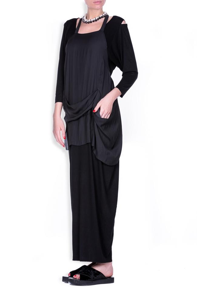 Apron18 cotton-blend maxi dress Studio Cabal image 1